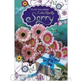 To Let Know I Am Really Sorry - Greeting Card