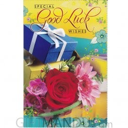 Good Luck Wishes - Greeting Card