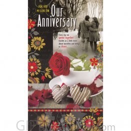 For You My Love On Our Anniversary - Greeting Card (GC-5460)