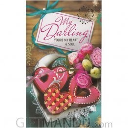 My Darling You'Re My Heart & Soul - Greeting Card