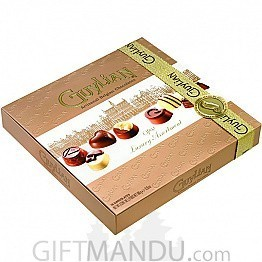 Guylian Artisanal Belgian Chocolates - Opus Luxury Assortment Golden Gift Box 180g