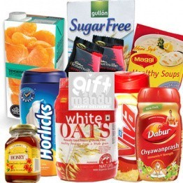 Health First - Horlicks, Viva, Biscuits, Oats, Chyawanprash and More (9 Items)