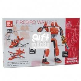 FireBird Warrior - Jiestar Block Toy (140 Pcs) - 3 Patterns