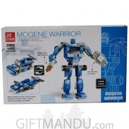 Morgene Warrior - Jiestar Block Toy (142 Pcs) - 3 Patterns