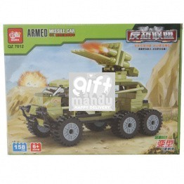 Armed Missile Car Block Toy (158 Pcs)