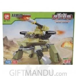 Armed Response Car Block Toy (121 Pcs)