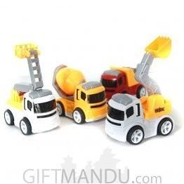 Construction Truck Sets Series (4 Mini Trucks)