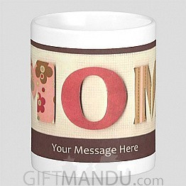 Personalized Message Print on Cup (Mom)