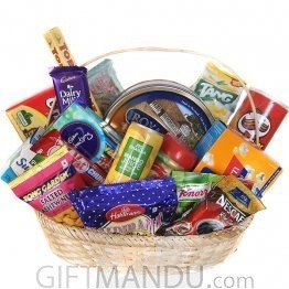 All-Goodies-Basket - Cookies, Snacks, Chocolates and More (17 Items)