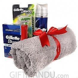 Refreshing Shaving Kits and Face Towel Set