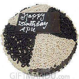 Mocha Cake from Annapurna Hotel