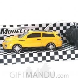 Remote Control Model Car 3D Light (Yellow)