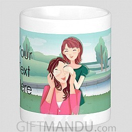 Personalized Message Print on Cup (Know Me)