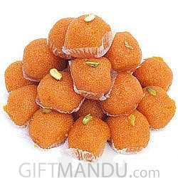 Moti Choor Laddoo Box from Angan