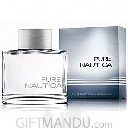 Pure Nautica EDT 100ml Perfume Spray for Him
