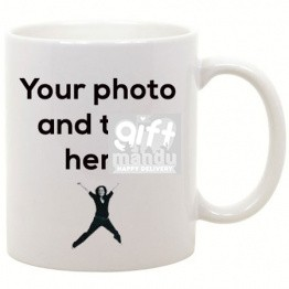 Print Your Own Photo and Message On This Coffee Mug (White)