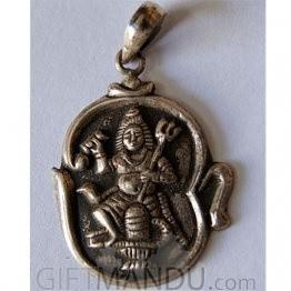 Sterling Silver Shiva Pendant