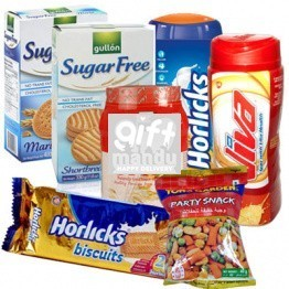 Biscuits, Viva, Horlicks, Oats and Snacks