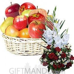 Fruit Round Basket and Fresh Flower Basket