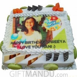 Photo Cake (Print Any Photo) for Kathmandu Valley