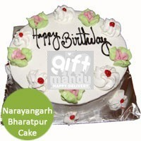 Vanilla or Your Choice of Cakes to Narayangarh Bharatpur