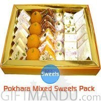 Assorted Sweets Pack for Pokhara
