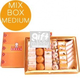 Assorted Mithai Box from Angan - Premium Large - 33C