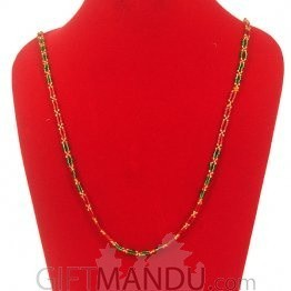 Pote Mala Bright Green and Red- Shrawan Specials