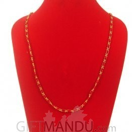 Pote Mala Bright Golden and Red- Shrawan Specials