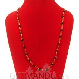 Pote Mala Bright Black and Red- Shrawan Specials