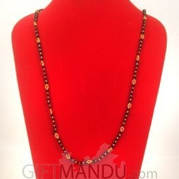 Pote Mala Bright Black And Golden- Shrawan Specials
