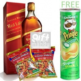 JW Red Label and Snack Packs, Free Pringles