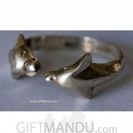 Dolphin Sterling Silver Ring (SJ-1078)