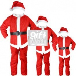 Christmas Santa Dress For Kids (0-13 Years)