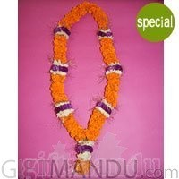 Exclusive Garland - Sayapatri, Godabari and Makhamal