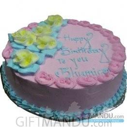 Strawberry Cake to Pokhara (GB14)