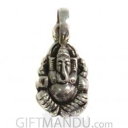 Sterling Silver Ganapati Pendant