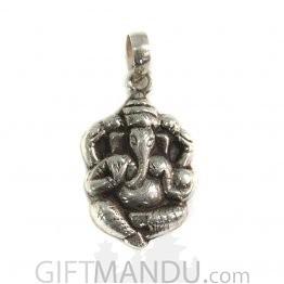 Sterling Silver Ganeshji Pendant