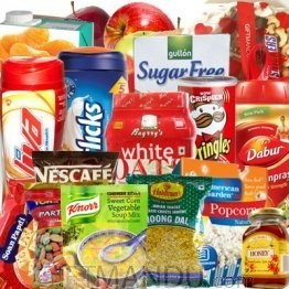 All-in-One Package - Fruit Basket, Dry Nuts Tray, Biscuits, Viva, Horlicks, Snacks, Coffee and More
