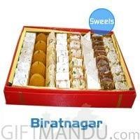 Assorted Sweets Pack for Biratnagar