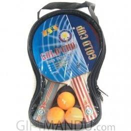 Table Tennis Racket and Ball Gift Set