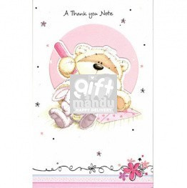 A Thank You Note - Greeting Card