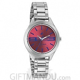 Fastrack Pink Dial Analog Women's Watch (6153SM02)