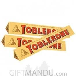 Toblerone Triangular Swiss Chocolate 50g X 3