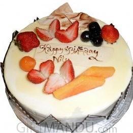 Vanilla Round Cake from Radisson Hotel