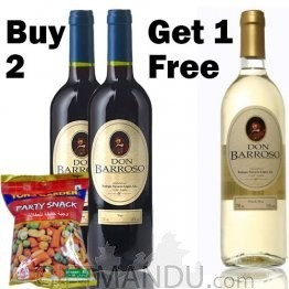 Buy 2 Get 1 Free Wine with Tong Garden Party Snack