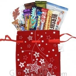 Christmas Chocolates Goodies Bag (14 Items)