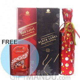 Awesome Combo of Beverages & FREE Lindt Chocolate Box
