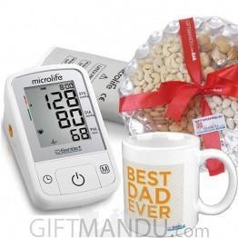 Microlife Blood Pressure Monitor Gift Combo