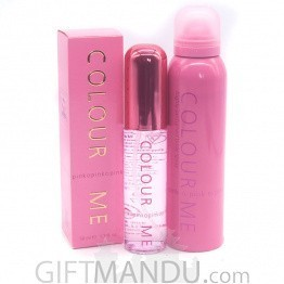 Show Her Affection With Colour Me Pink Fragrances Gift Set